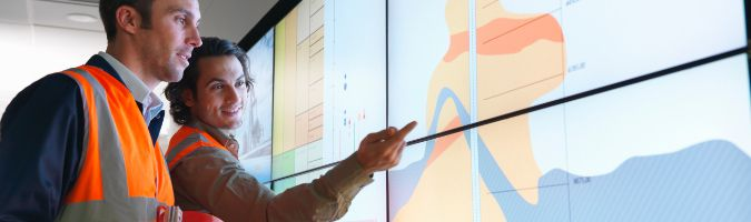 Geological analytics company improves user experiences